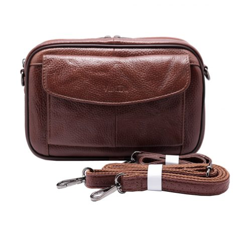 mens messenger bag handbags Vidlea Camel Tan Brown leather bags for men clutch bag crossbody
