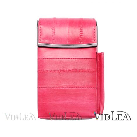 eel skin cigarette case Pink Cigarette holder tobacco cases